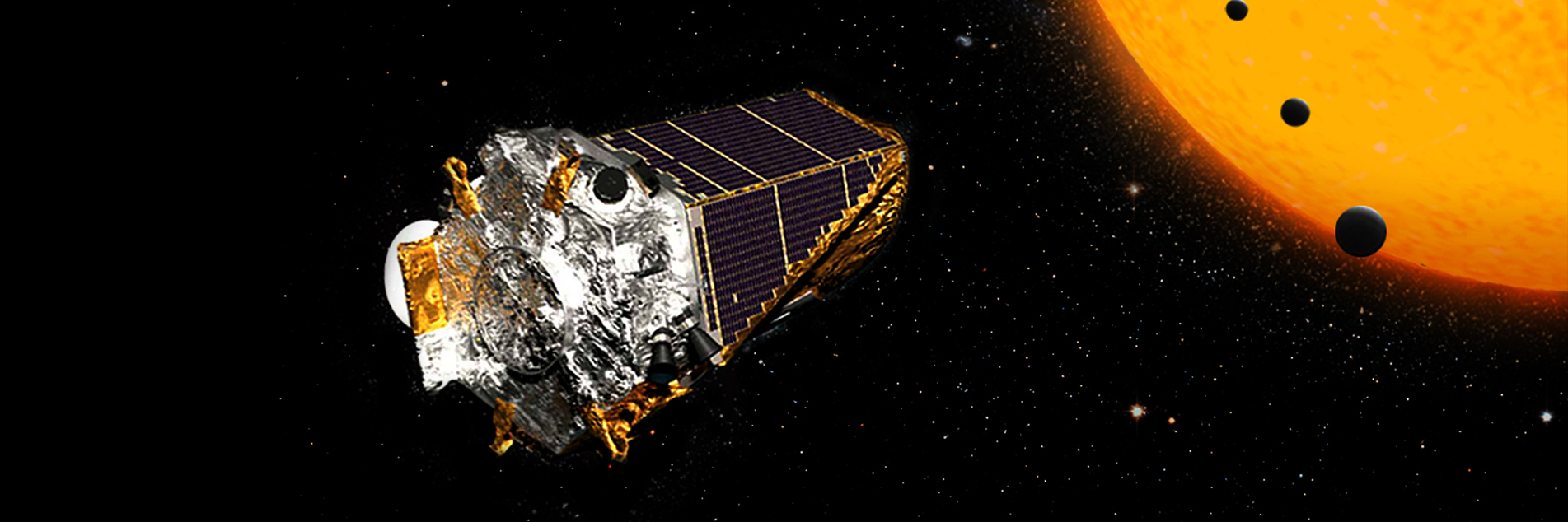 Kepler Space Telescope on its K2 mission (NASA/JPL-Caltech)