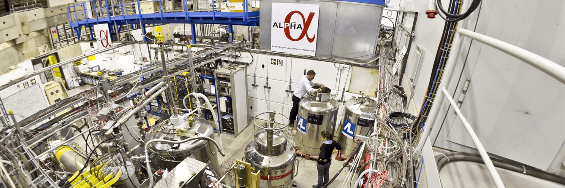 ALPHA experiment image via CERN