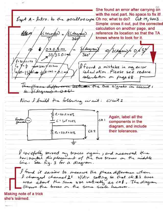 lab writing